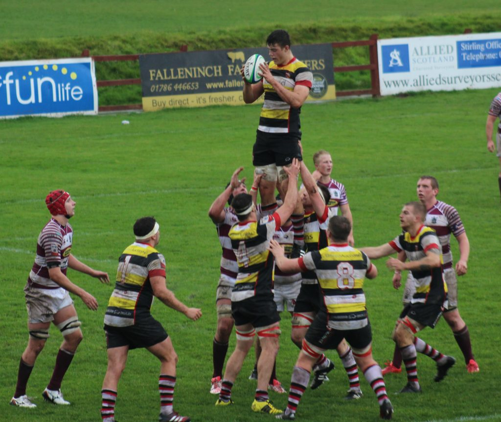 STIRLING COUNTY 21-19 WATSONIANS