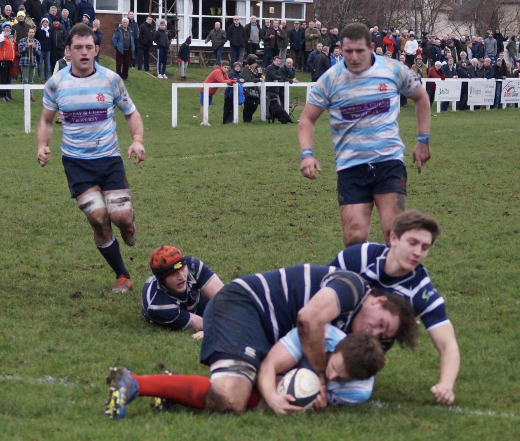 NATIONAL ONE: MUSSELBURGH 17-28 EDINBURGH ACADEMICALS