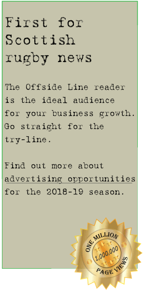 Advertising opportunities on The Offside Line